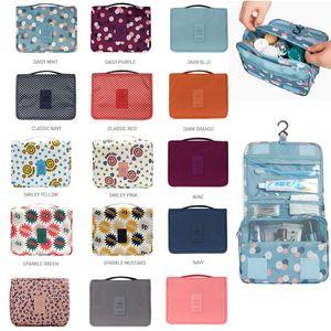 أدوات الزينة حقيبة متعددة الوظائف حقيبة مستحضرات التجميل المحمولة الحقيبة السفر للماء حقيبة معلقة المنظم حقيبة التخزين للمرأة بنات حقائب التخزين
