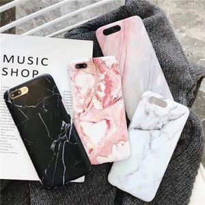 Mármol caso del iPhone para 11 X XS XS XR MAX Caso casos de silicona para el iPhone 6 7 8 6s 6plus caja del teléfono Plus