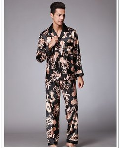 Erkek Pijama Set Yeni Çift Pijama Erkekler Pijama Pijama Yüksek Kalite Uzun Kollu Marka Pantolon Takım Elbise Ev Giyim Drop Shipping
