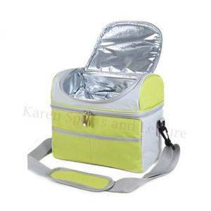 Al por mayor-Multi Bolsas de Picnic Thermo Refrigerador Bolsas de Almuerzo con Aislamiento para Mujeres Niños Bolsa de Picnic Térmica Lunch Box Food Picnic Bolsas Tote Bolsos