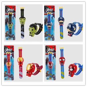 New arrival Kids LEDDigital Children Watch Cartoon Sports Watches The Avengers Toys Boys Wristwatches Drop Shipping