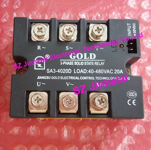 SA34020D New and original SA3-4020D GOLD 3-PHASE Solid state relay 40-480VAC 20A 4-32VDC