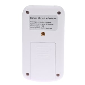 Handheld Portable Mini CO Gas Analyzer Digital Carbon Monoxide Detector High Accuracy Sound Light Alarm Leak Meter