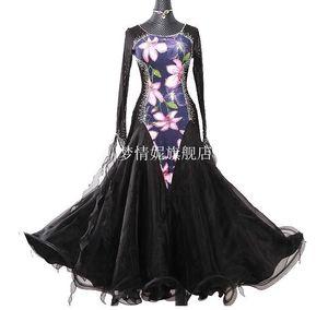 Ballroom Standard Dance Dress, Waltz Ballroom Competition Dress, abiti da concorso da ballo