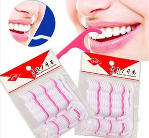 1000 Stücke Zahnseide Picks Zähne Zahnstocher Stick Mundpflege Interdentalbürste Saubere Zähne Dental Flosser Stick Kunststoff Zahnstocher