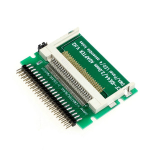 """Carte CF à 2.5 """"IDE Adapter, Compact Flash Memory Disk à 44Pin 2.5 pouces mâle ordinateur portable PATA HDD Converter, 50pcs / lot"""