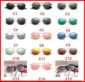 2018 Yeni 3447 Steampunk güneş gözlüğü kadın erkek metal çerçeve çift Köprü uv400 lens Retro Vintage güneş gözlükleri Gözlüğü