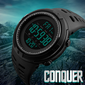 2018 Brand Men's Fashion Outdoor Sport Watches Chrono Countdown Man Waterproof Digit Watch Military Male Clock Relogio Masculino