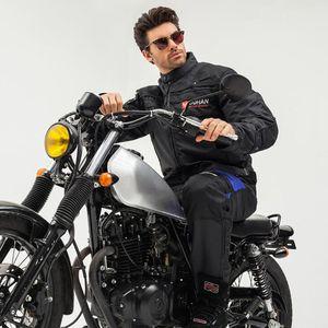 Chaqueta de moto caliente chaqueta de montar a caballo a prueba de viento de la motocicleta de la carrocería completa de protección armadura del engranaje otoño invierno moto ropa