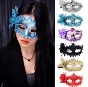 Halloween Flannel Mask Wrapped Butterfly Mask 2018 New Leather Mask Venice Goddess Free Post
