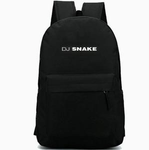 DJ Snake backpack Top popular daypack Cool music schoolbag Leisure rucksack Sport school bag Outdoor day pack