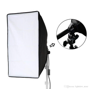 Lightdow 20x28(50x70cm) Studio Softbox Only, 9ft 2.8m Long Cable with E27 Screw Socket (Upgrade Version with Hand Grip & Sp