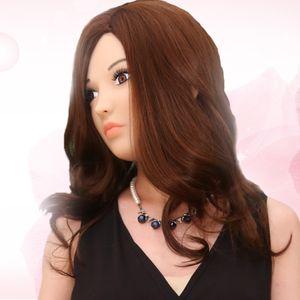 Top Qualität weibliche Maske für Mann realistische Silikon Masken für Halloween Feminine DRAG QUEENS Crossdresser