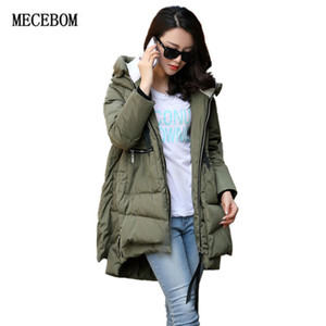 MECEBOM 2017 the warmest winter clothing Women's Thickened Clothing Women Jackets Coats Down Alternative Down Jacket