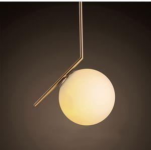 Modern Style Glass Ball Pendant Lamp Living Room Bedroom Minimalist Restaurant Pendant Light Nordic Clothing Decoration