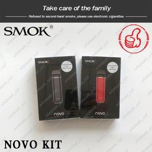 Autêntico SMOK Novo Pod Starter Kit 450mAh Portátil Vape E Cig Kit com 2ml EM ESTOQUE