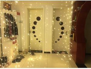 Светодиодные Окна Шторы лед газа водопад Рождеством поставки праздничный день рождения украшения Роман небольшой легко носить с собой 26ly cc