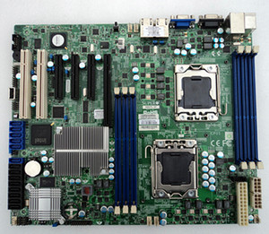 Motherboard Do Servidor Para SuperMicro X8DTL-3F Dual x58 LGA1366 Mainboard Do Sistema