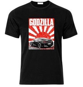 NISSAN GTR R38 GT-R SKYLINE GODZILLA DRIFT TUNING camiseta JDM Weihnachtsgeschenk manga corta Hip Hop Tee camiseta top tee