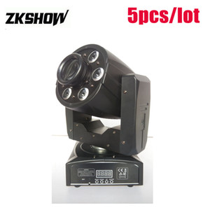 80% Discount 95W Mini Gobo LED Moving Head Zoom Wash Spot 1*30W DMX512 DJ Disco Party Wedding Stage Effect Lightings Projector Free Shipping