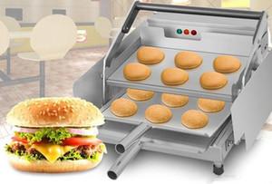 Kızarmış tavuk dükkanı elektrikli hamburg makinesi ticari hamburg ısıtma makinesi bun tost hamburger makinesi LLFA