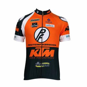 Neue KTM Radtrikot mit kurzen Ärmeln Herren 2020 Cycling Shirts Pro MTB Fahrrad-Kleidung Ropa Ciclismo Mountainbike Kleidung 010803Y