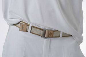 Federer Wimbledon Tennis Masters cintura in acciaio inossidabile con fibbia in acciaio a sezione RF