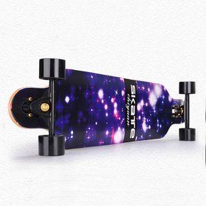 CHI YUAN 41 Inch Professional Longboard Maple Cruiser Board Skateboard Skate board Complete Galaxy