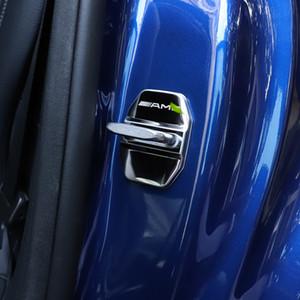Mercedes Benz AMG C200L GLC260 E300L GLA CLA200 GLE GLK Caja de la cubierta del perno de la cerradura de la puerta del coche con logo amg