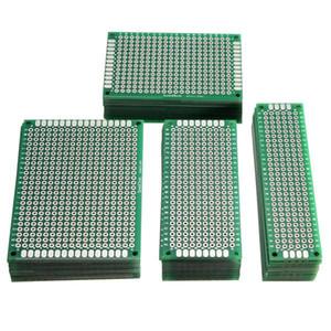 مجلس 2.54MM FR-4 40PCS المطبوعة PCB نموذج مزدوج الدائرة الجانبية Riiou