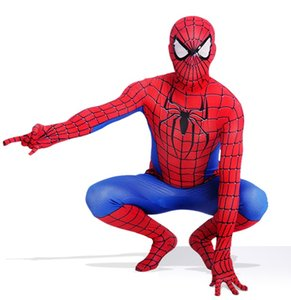 New Spiderman Costume 3D stampato bambini adulti Lycra Spandex Spider-man Costume per mascotte di Halloween