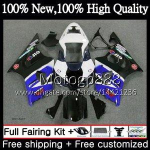Karosserie für SUZUKI GSX-R1000 k3 GSXR-1000 GSXR 1000 03 04 Karosserie 29PG21 Lager blau GSXR1000 03 04 K3 GSX R1000 2003 2004 Verkleidung Karosserie