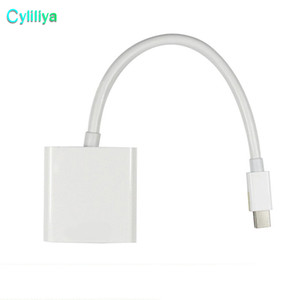15 см мини DisplayPort дисплей порт DP Thunderbolt женский VGA HD TV адаптер кабель для iMac Mac Mini Mac Pro MacBook Air