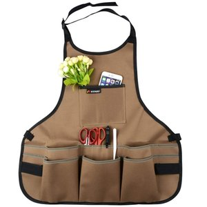 Tool Apron,Multifunctional Adjustable Belt Professional Waterproof Oxford Cloth Garden Tools Apron Drop shipping,Wholesale