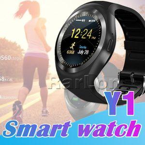 U1 Y1 Smart Watch para Android SmartWatch Samsung Celular Watch Bluetooth para iPhone PK U8 DZ09 GT08 com pacote de varejo