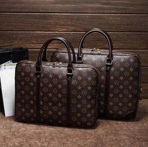 Повседневная мода Tote Cross Body Buass Компьютерная сумка для женщин и мужчин Портфель Одиночные плечо Сумка высокого качества PU + Натуральная кожа