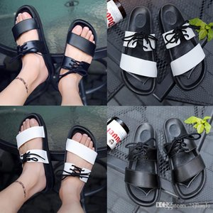 NEW lace-up slipper Europe Brand designer men women sandals causal Non-slip summer huaraches slippers flip flops slipper BEST QUALITY