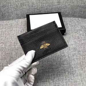 Couro genuíno dos homens de couro bolsa de moda Slim Coin Bag Business Bank ID titular do cartão de crédito preto carteira titular dinheiro bolso 2019 novo