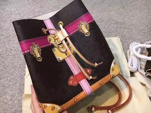 Newset NeoNoe seau sac à bandoulière imprimé floral chèque femmes de sacs de sac valise Graffiti dcrossbody
