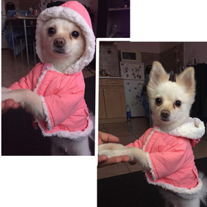 Abbigliamento nuovo disegno di inverno del cane per i piccoli cani vestiti caldi Pet Dog Giù parka per il francese Bulldog Pug vestiti di inverno Chihuahua cappotti