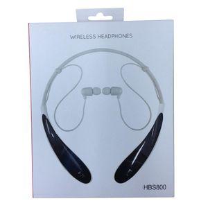 HBS800 سماعات HBS-800 لاسلكية بلوتوث 4.0 ستيريو سماعة سماعة يدوي في الأذن سماعات مقابل HB-800 مع حزمة البيع