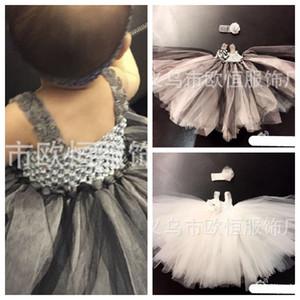 2018 Новое европейское и американское черное платье Хэллоуина / платье в том же параграфе Кун-Линг / юбка ручной работы небольшой недели / летнее платье ребенка