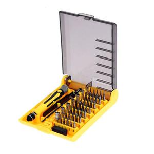 42 Batch Heads und Sleeves Antistatische Pinzette Telefon PC Laptop Repair Tool Kit 45 in 1 Präzisions-Schraubendreher-Set