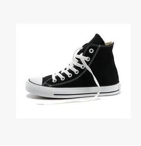 2018 Moda Clásico Alto-top zapatos casuales zapatos de lona de las mujeres del estilo top del punto bajo las estrellas del deporte mandril de zapatos la lona clásica de las zapatillas de deporte de los hombres de