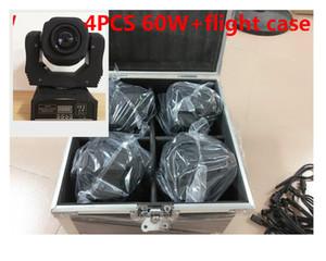 4 pz 60 Вт + бортовой светодиодный прожектор с подвижным головным светом / США с подсветкой 60 Вт светодиодный прожектор djx