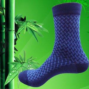 10 stücke = 5 Pairs Hochwertige Bambusfaser Socken Herren Elite Casual Business Socken Tragen Nicht Stinkende Natürliche Antibakterielle Mo Boxed Heißer VERKAUF