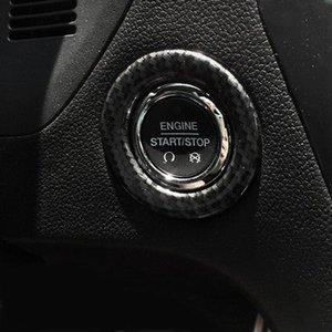 chiave pulsante di controllo in fibra di carbonio copertura decorativa assetto per NUOVO Ford Explorer 2016-2018