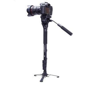 Atacado VCT-288 Mini Câmera Tripé Unipod Holder + Monopé + Fluid Pan Cabeça para Canon Nikon DSLR Câmeras Fotografia Tripé Kit