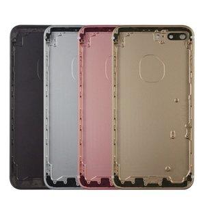 لتفاح iphone 7 زائد غطاء البطارية الخلفي الخلفية doornew ل فون 7 الغطاء الخلفي الإسكان البطارية الباب الخلفي حالة الهيكل الأوسط الإطار مع SID