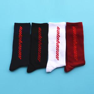 3 цвета Calabasas носки экипажа хлопок Kanye West Мужчины Женщины носки повседневная чулки скейтборд чулки